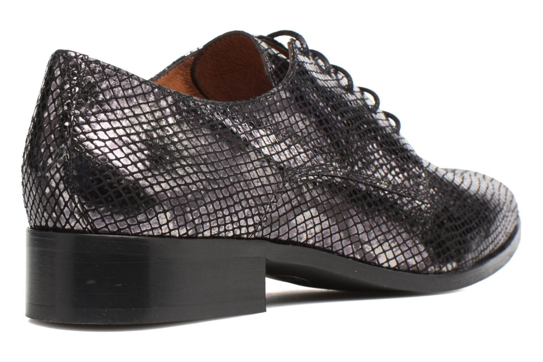 Zapatos con cordones Made by SARENZA Vegas Lipstick #6 Negro vista de frente