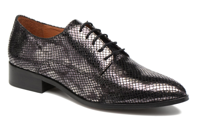 Zapatos con cordones Made by SARENZA Vegas Lipstick #6 Negro vista lateral derecha