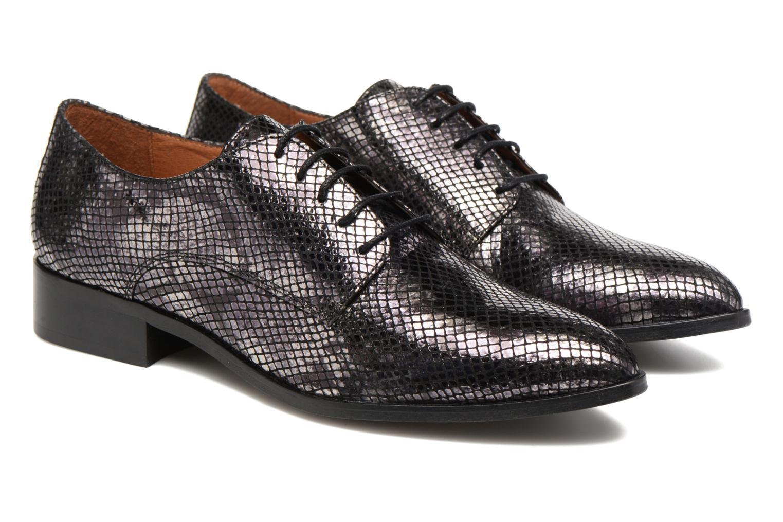 Zapatos con cordones Made by SARENZA Vegas Lipstick #6 Negro vistra trasera