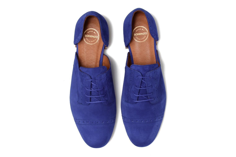 Zapatos con cordones Made by SARENZA Mariachichi #3 Azul vista del modelo