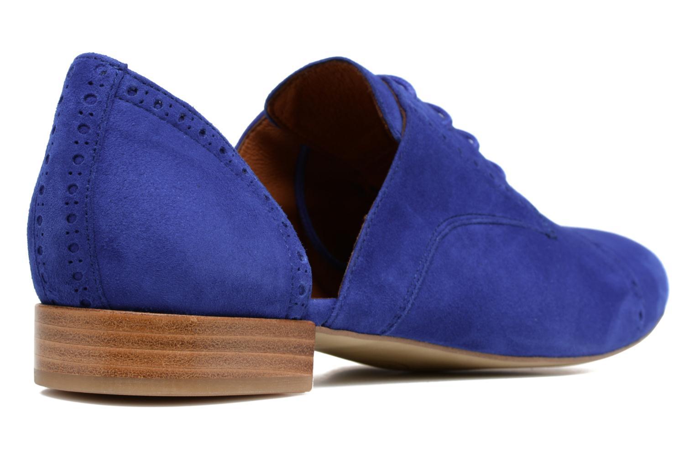 Zapatos con cordones Made by SARENZA Mariachichi #3 Azul vista de frente