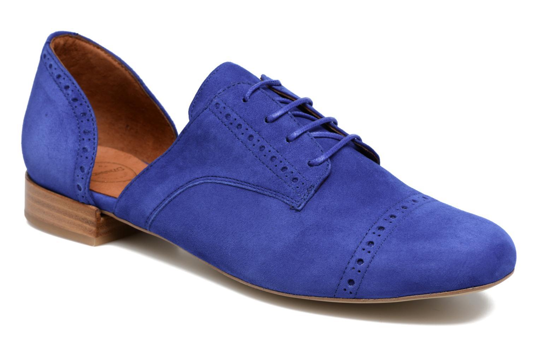 Zapatos con cordones Made by SARENZA Mariachichi #3 Azul vista lateral derecha
