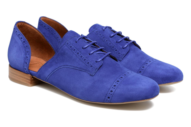 Zapatos con cordones Made by SARENZA Mariachichi #3 Azul vistra trasera