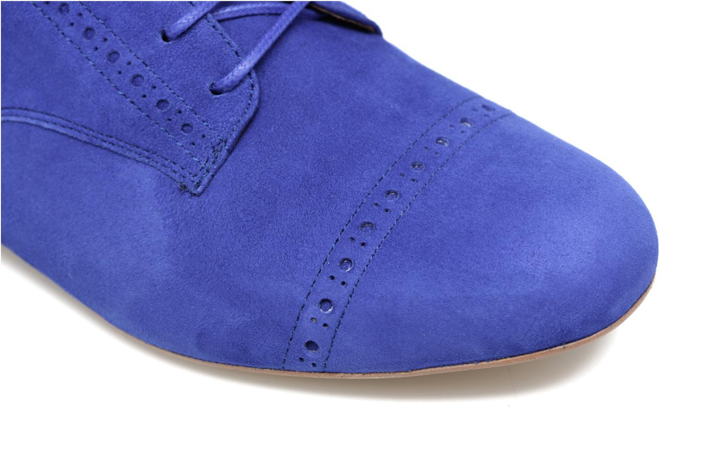 Zapatos con cordones Made by SARENZA Mariachichi #3 Azul vista lateral izquierda