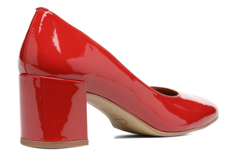Høje hæle Made by SARENZA Rock-a-hula #11 Rød se forfra