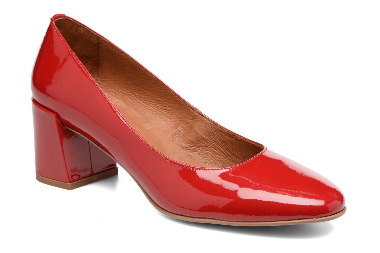 Høje hæle Made by SARENZA Rock-a-hula #11 Rød Se fra højre