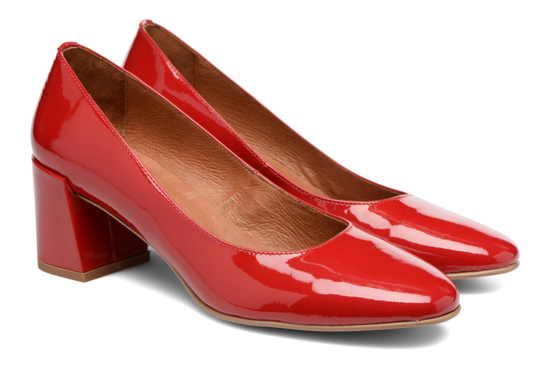 Høje hæle Made by SARENZA Rock-a-hula #11 Rød se bagfra