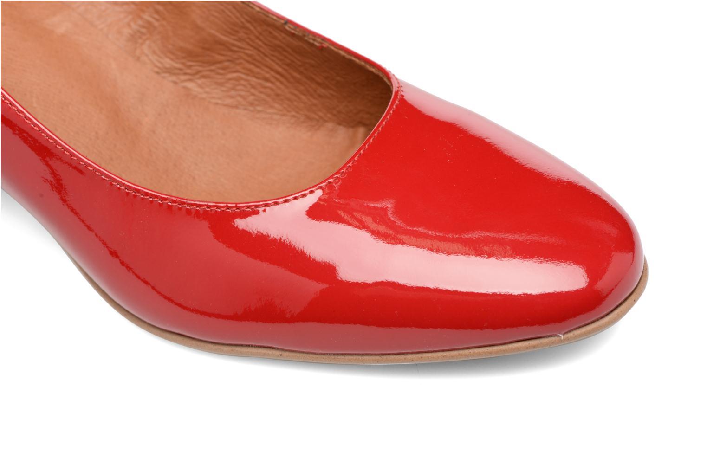 Høje hæle Made by SARENZA Rock-a-hula #11 Rød se fra venstre