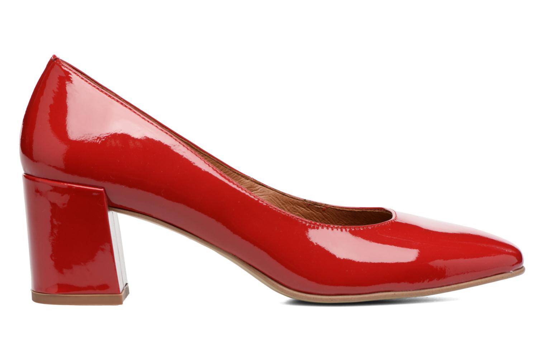 Høje hæle Made by SARENZA Rock-a-hula #11 Rød detaljeret billede af skoene