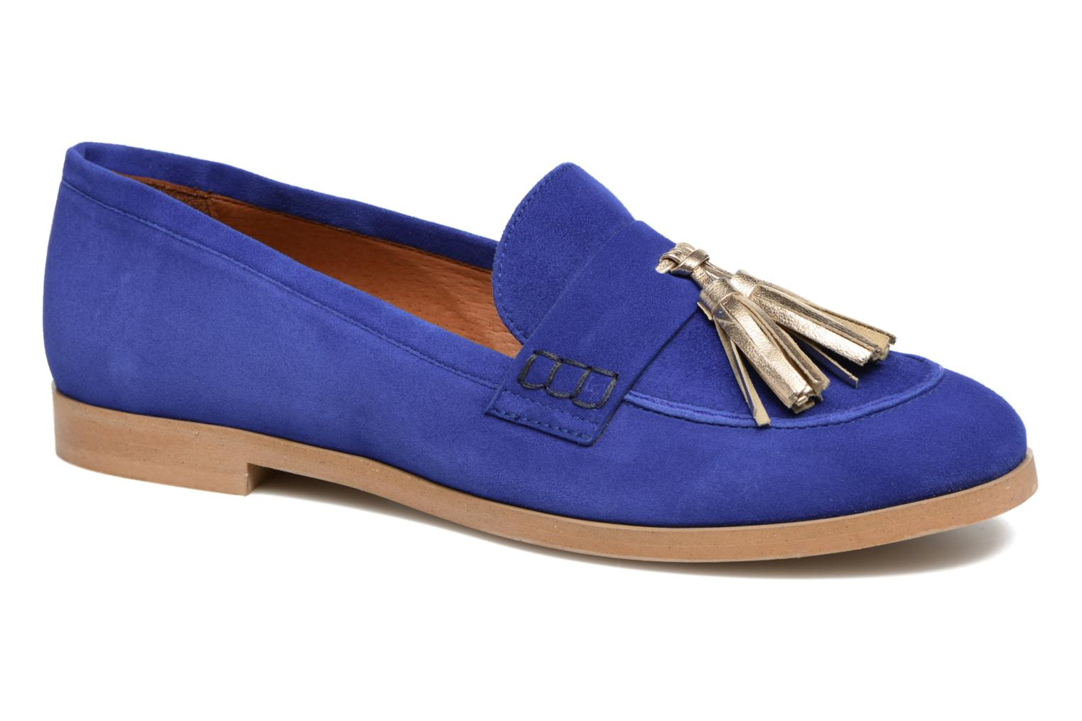 Loafers Made by SARENZA Bombay Babes Mocassins #2 Blue view from the right