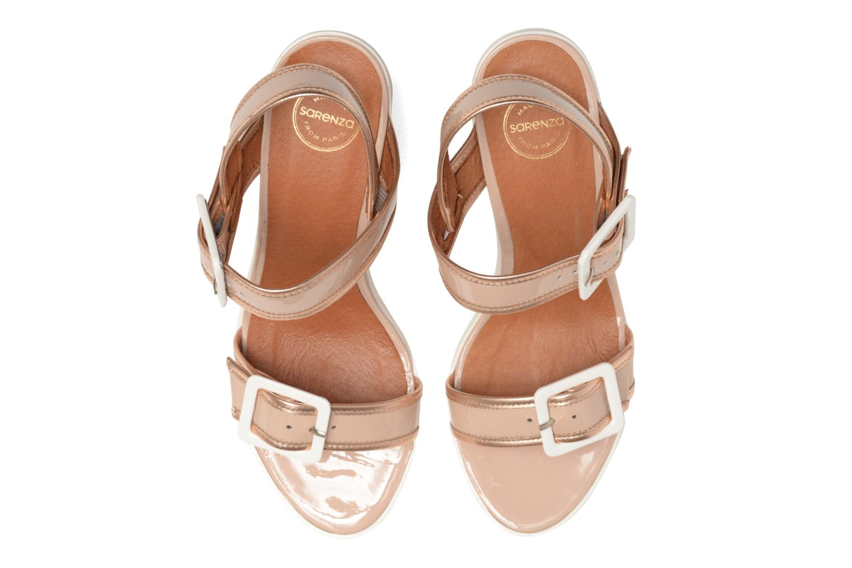 Sandales et nu-pieds Made by SARENZA Pastel Belle #5 Beige vue portées chaussures