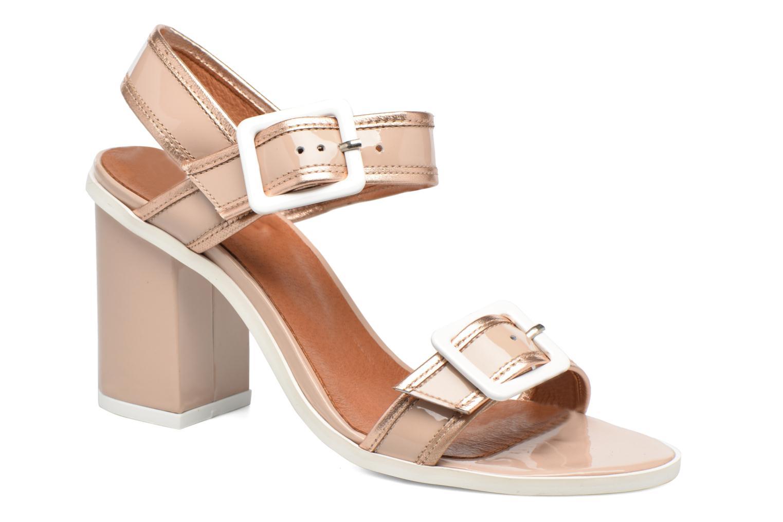 Sandales et nu-pieds Made by SARENZA Pastel Belle #5 Beige vue droite