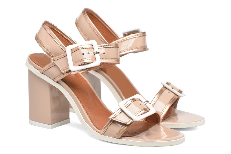 Sandales et nu-pieds Made by SARENZA Pastel Belle #5 Beige vue derrière