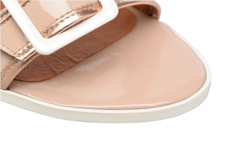 Pastel Belle #5 Verniz nude + galami or