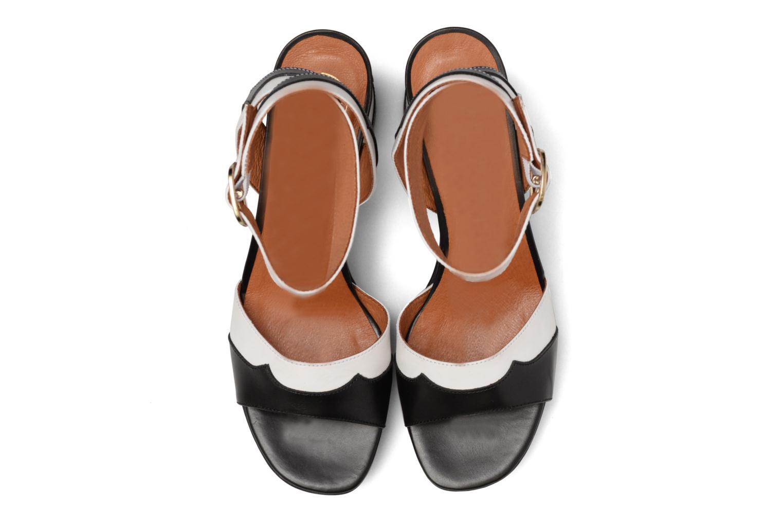 Sandales et nu-pieds Made by SARENZA Tennesse Sister #2 Noir vue portées chaussures