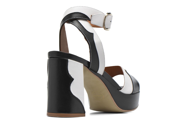 Sandales et nu-pieds Made by SARENZA Tennesse Sister #2 Noir vue face