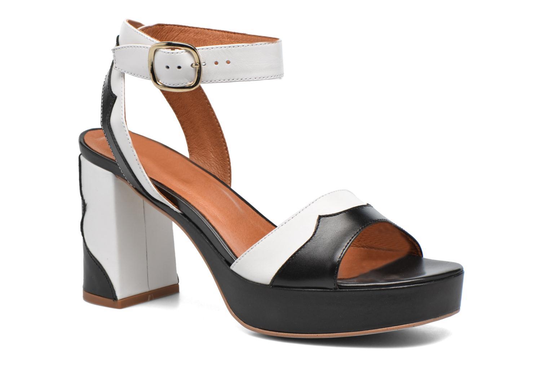 Sandales et nu-pieds Made by SARENZA Tennesse Sister #2 Noir vue droite