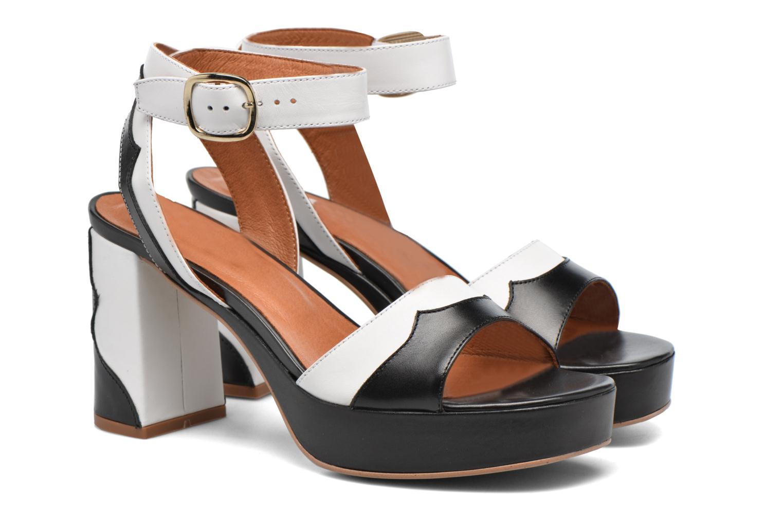 Sandales et nu-pieds Made by SARENZA Tennesse Sister #2 Noir vue derrière
