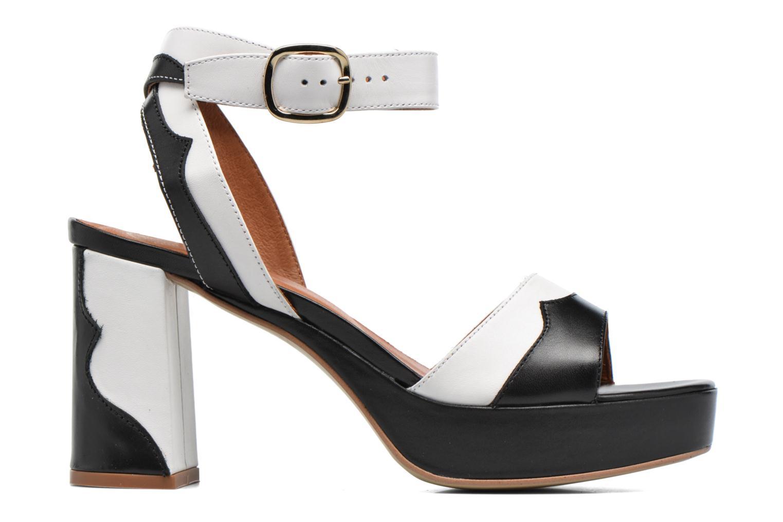 Marques Chaussure femme Made by SARENZA femme Tennesse Sister #2 Ambtes noir + rodemu blanc
