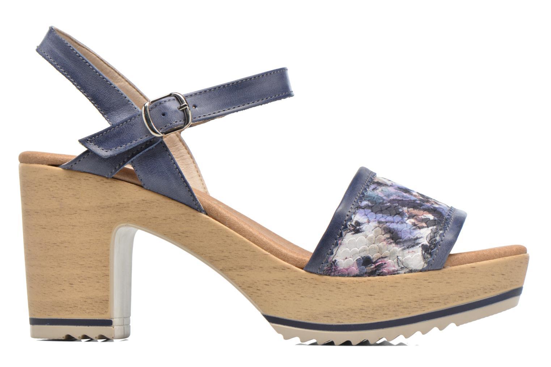 Sandales et nu-pieds Dorking Ubeda 7098 Bleu vue derrière