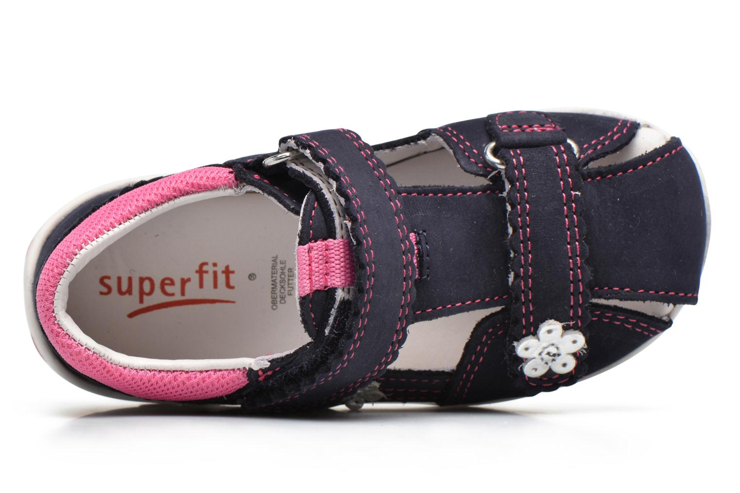 Sandalen Superfit Fanni Blauw links