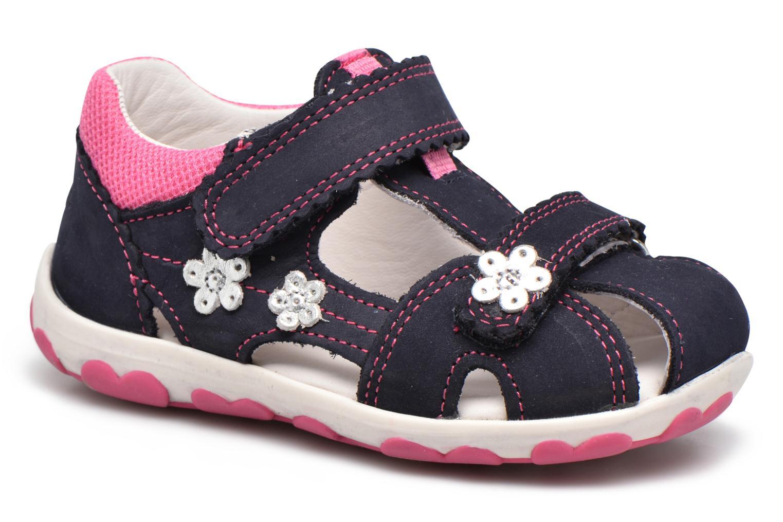 Sandaler Superfit Fanni Blå detaljeret billede af skoene