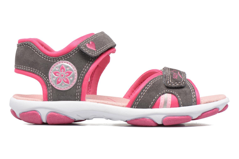 Sandales et nu-pieds Superfit Nancy3 Gris vue derrière