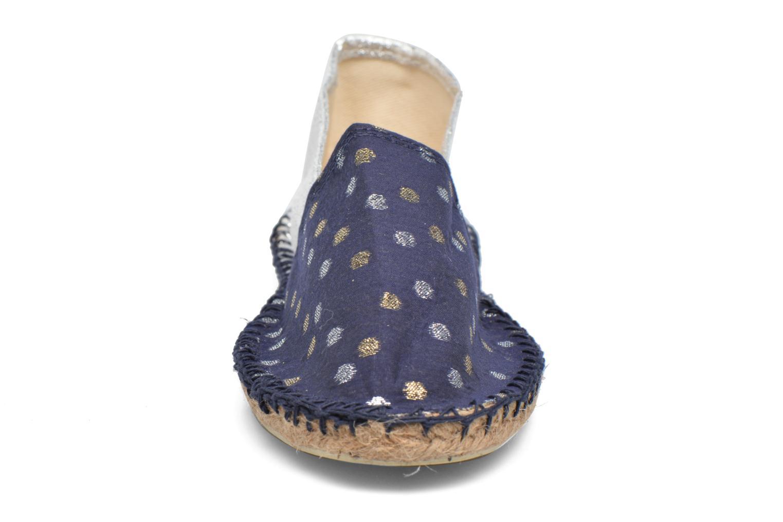 Espadrilles Arsène Comète Bleu vue portées chaussures
