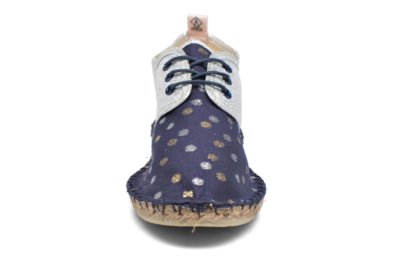 Espadrilles Arsène Comète Tennis Bleu vue portées chaussures
