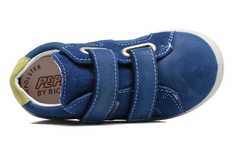 Baskets PEPINO Laif Bleu vue gauche