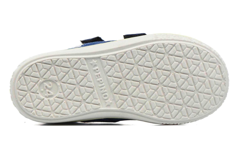 Baskets PEPINO Laif Bleu vue haut