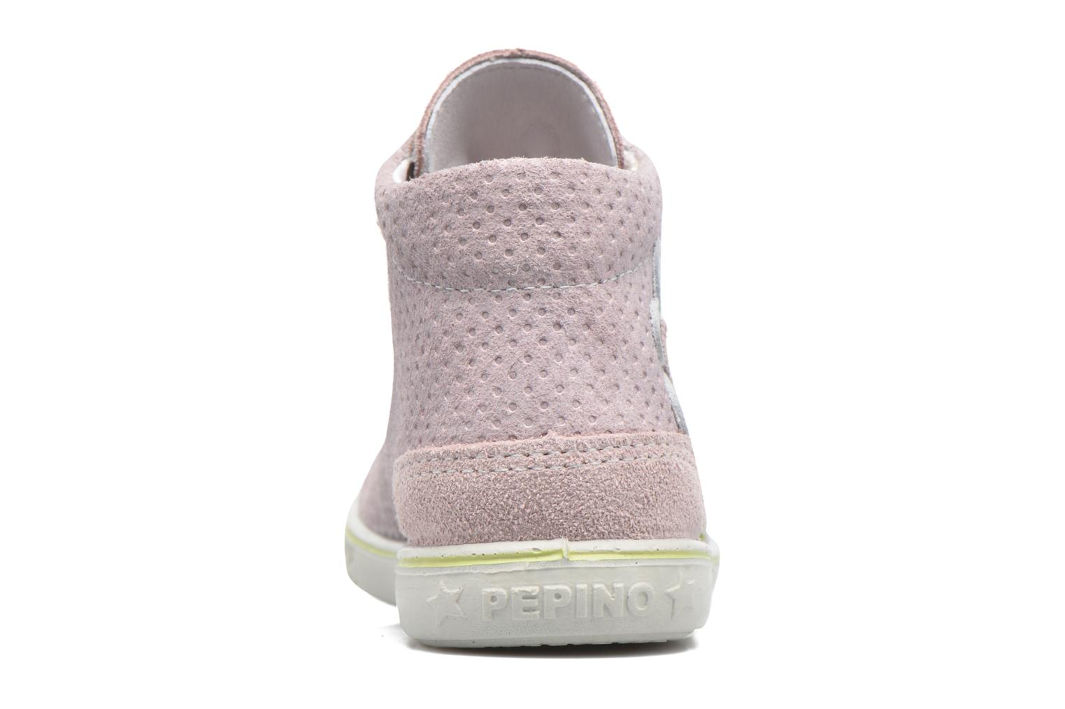Trainers PEPINO Lissi Pink view from the right
