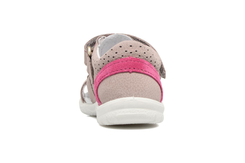 Sandales et nu-pieds PEPINO Kaspi Violet vue droite