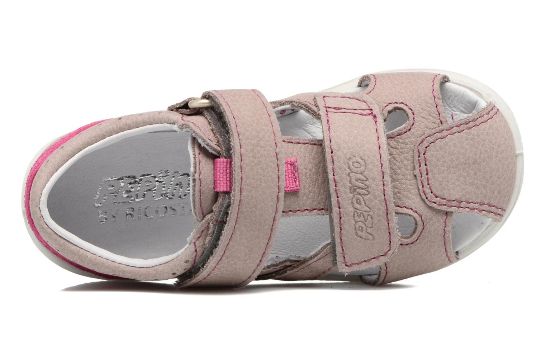 Sandales et nu-pieds PEPINO Kaspi Violet vue gauche