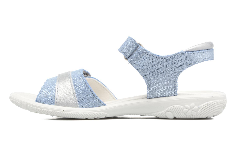 Sandales et nu-pieds Ricosta Marie Bleu vue face