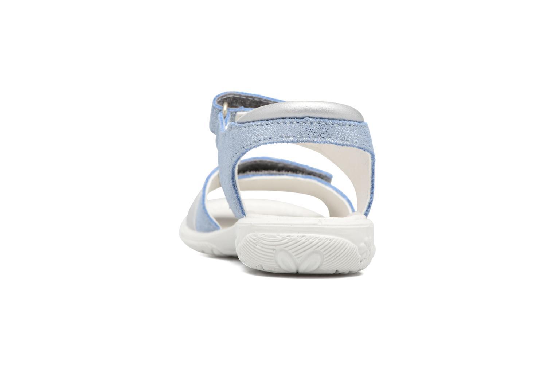 Sandales et nu-pieds Ricosta Marie Bleu vue droite