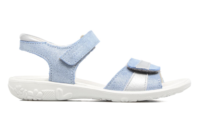 Sandales et nu-pieds Ricosta Marie Bleu vue derrière