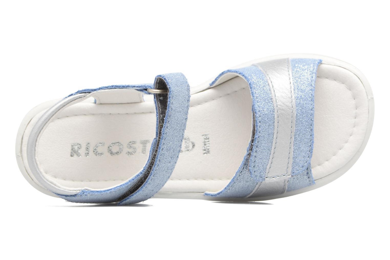 Sandales et nu-pieds Ricosta Marie Bleu vue gauche