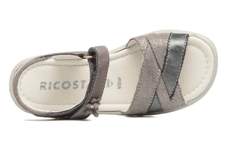 Sandales et nu-pieds Ricosta Bianca Gris vue gauche
