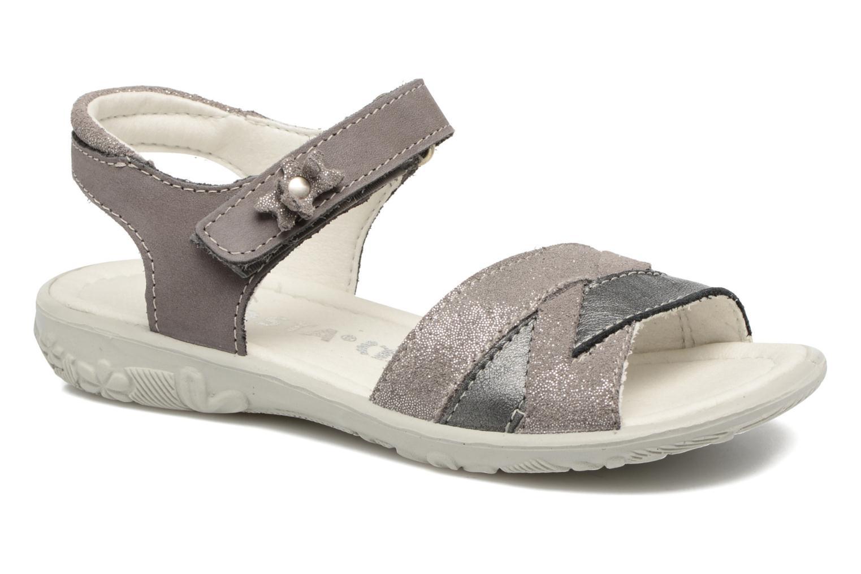 Sandales et nu-pieds Ricosta Bianca Gris vue détail/paire