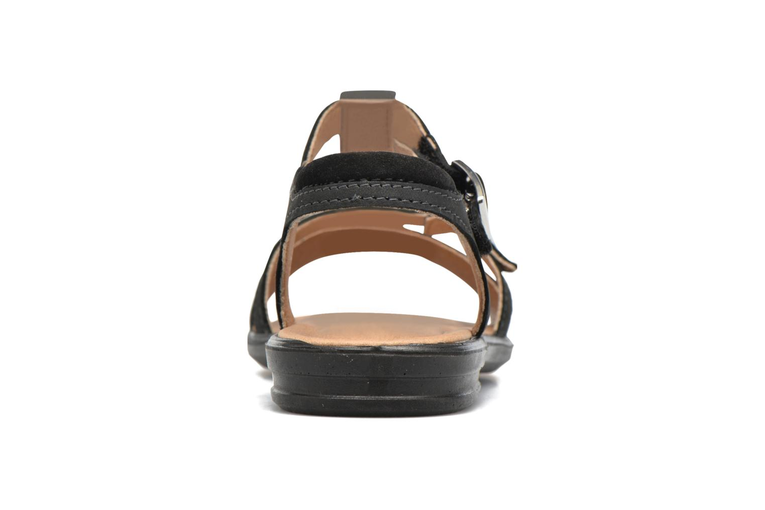 Sandals Ricosta Kalja Black view from the right