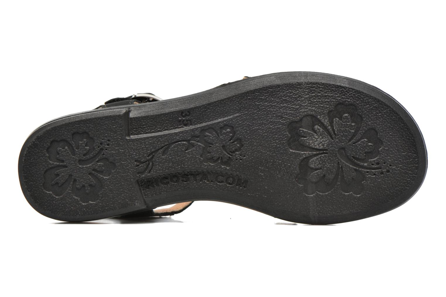Sandals Ricosta Kalja Black view from above
