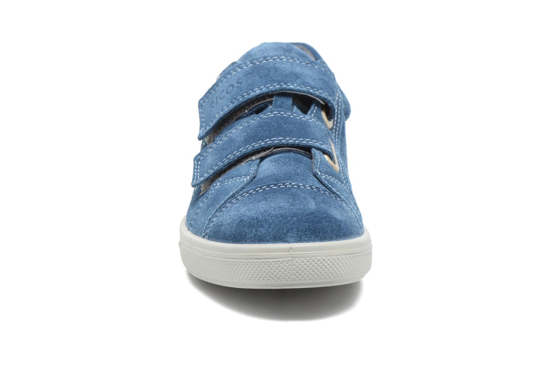 Baskets Ricosta Mola Bleu vue portées chaussures