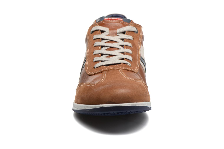 Baskets Fluchos Daniel 9713 Marron vue portées chaussures