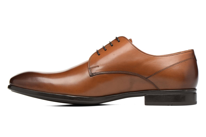 Snörade skor Doucal's OSCAR Vichy Brun bild från framsidan