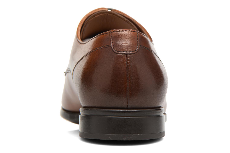 Snörade skor Doucal's OSCAR Vichy Brun Bild från höger sidan