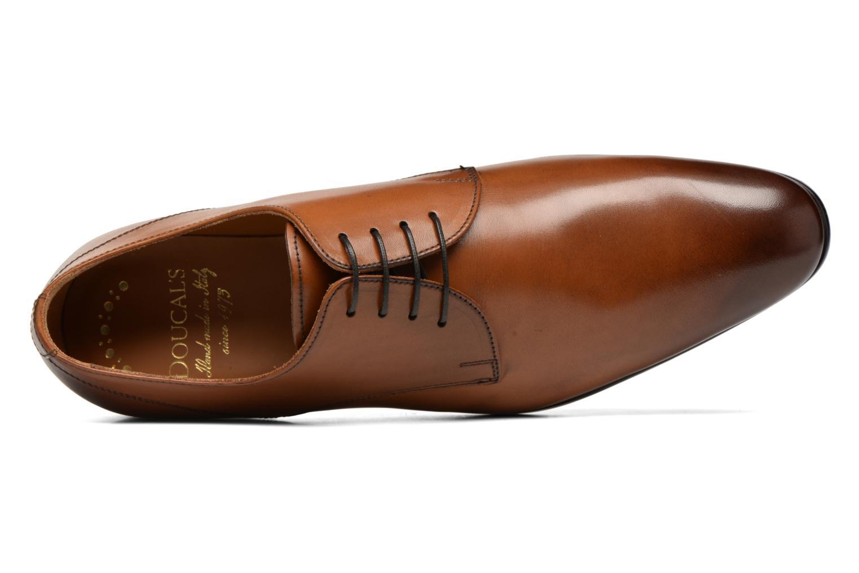 Snörade skor Doucal's OSCAR Vichy Brun bild från vänster sidan