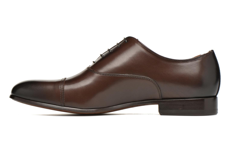 Snörade skor Doucal's SEBASTIANO Lione Brun bild från framsidan