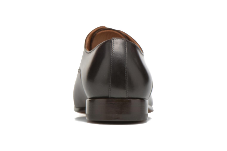 Snörade skor Doucal's SEBASTIANO Lione Brun Bild från höger sidan