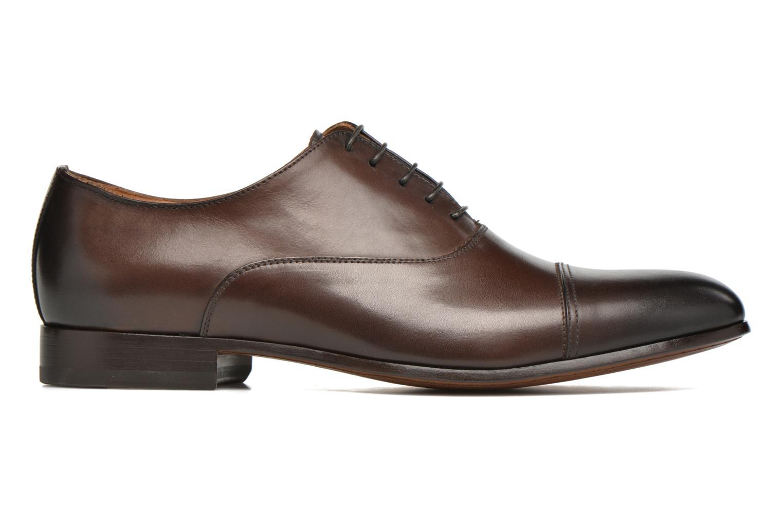Snörade skor Doucal's SEBASTIANO Lione Brun bild från baksidan